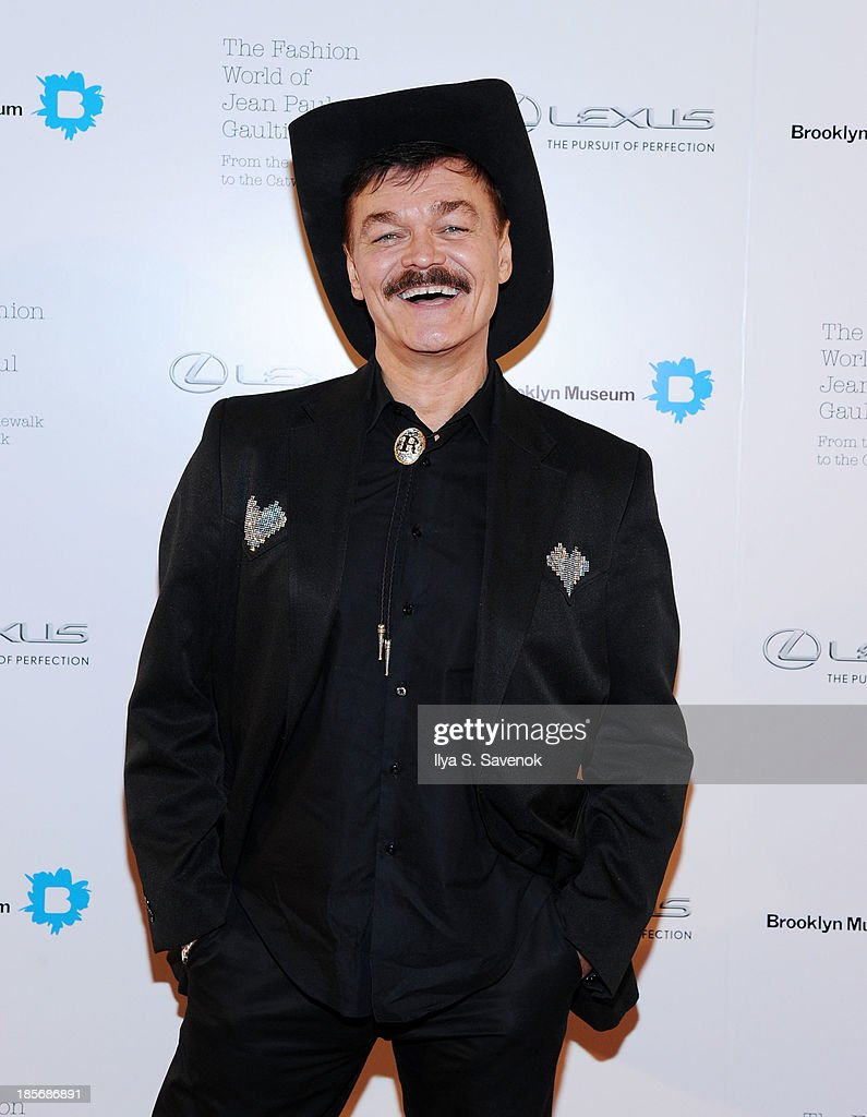 Randy Jones attends the VIP reception and viewing for The Fashion World of Jean Paul Gaultier: From the Sidewalk to the Catwalk at the Brooklyn Museum on October 23, 2013 in the Brooklyn borough of New York City.