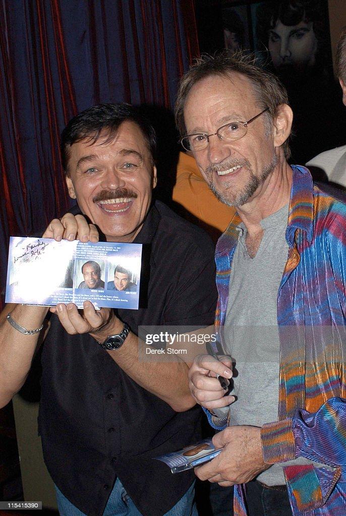 Randy Jones of the Village People and Peter Tork of the Monkees