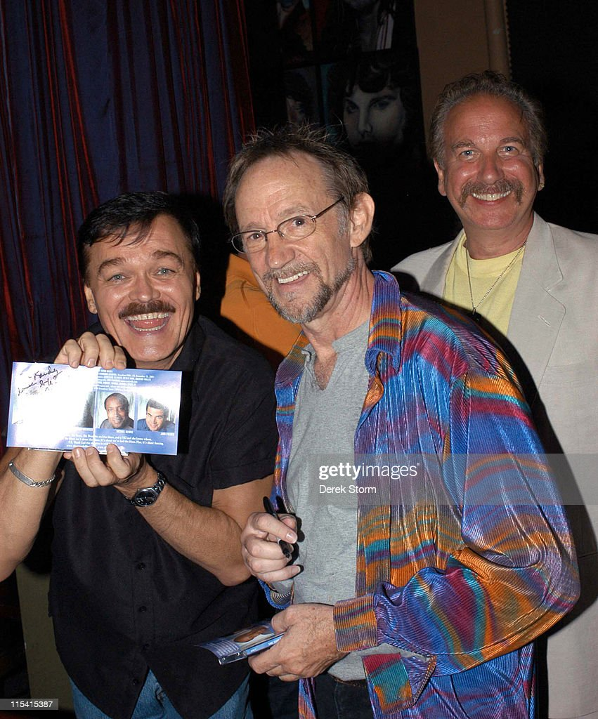 Randy Jones of the Village People Peter Tork of the Monkees and Mark Bego