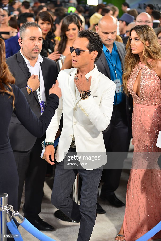Randy Malcom Martinez of Gente de Zona backstage at 2015 Billboard Latin Music Awards presented by State Farm on Telemundo at Bank United Center on April 30, 2015 in Miami, Florida.