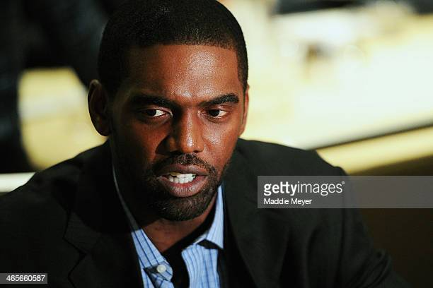 Thaddeus Moss Mother Photo >> Randy Moss Stock Photos and Pictures   Getty Images