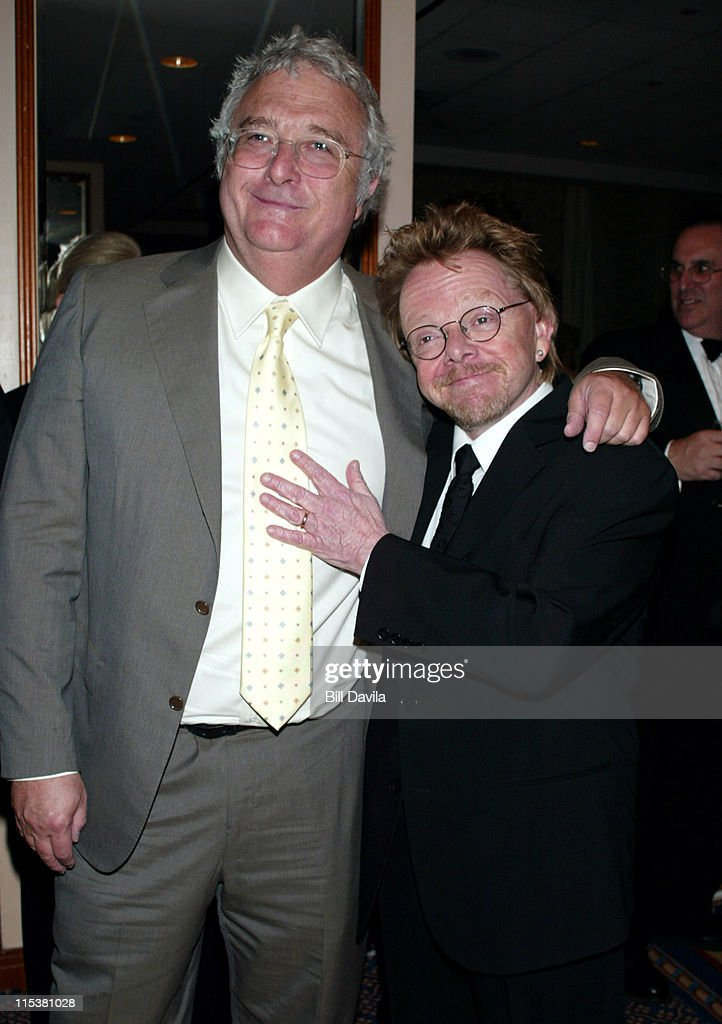 Randy Newman and Paul Williams during 33rd Annual Songwriters Hall of Fame Awards at Sheraton Hotel in New York City, New York, United States.