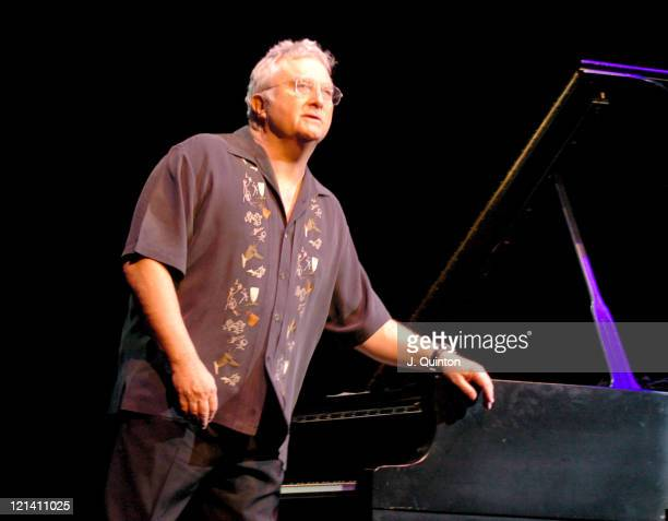 Randy Newman during Randy Newman Performs Live at the Barbican at Barbican in London Great Britain