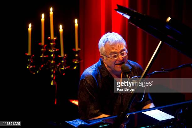 Randy Newman performs at Desmet Studio on May 3 2011 in Amsterdam Netherlands