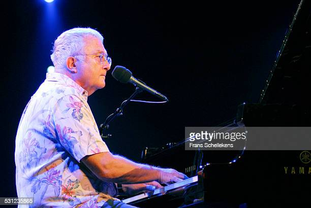 Randy Newman vocals and piano performs at the North Sea Jazz Festival in Ahoy on July 14th 2006 in Rotterdam Netherlands
