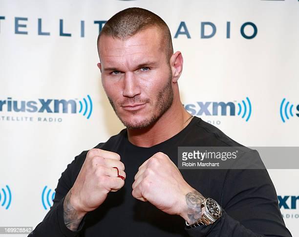 Randy Orton visits at SiriusXM Studios on June 4 2013 in New York City