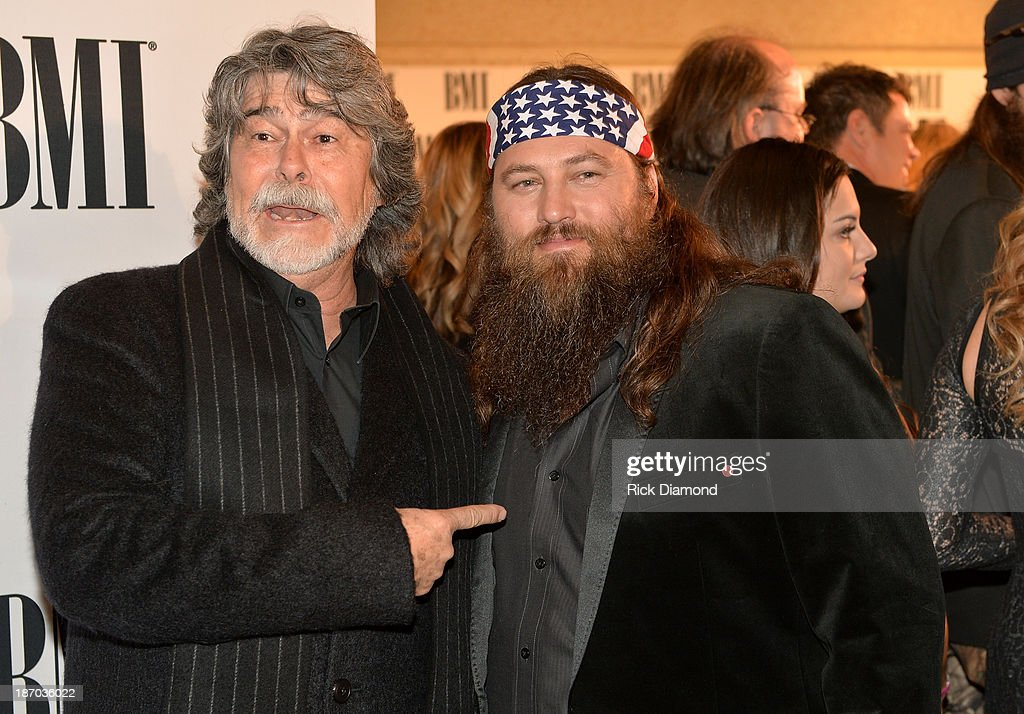 Randy Owen of Alabama and Willie Robertson of Duck Dynasty attend the 61st annual BMI Country awards on November 5, 2013 in Nashville, Tennessee.
