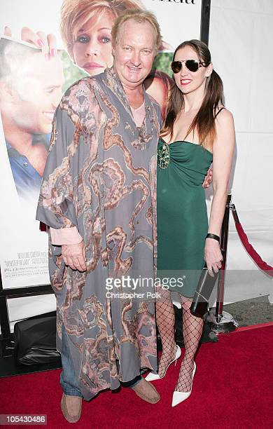 Randy Quaid and wife Evi during 'MonsterInLaw' Los Angeles Premiere at Mann National Theatre in Hollywood CA United States
