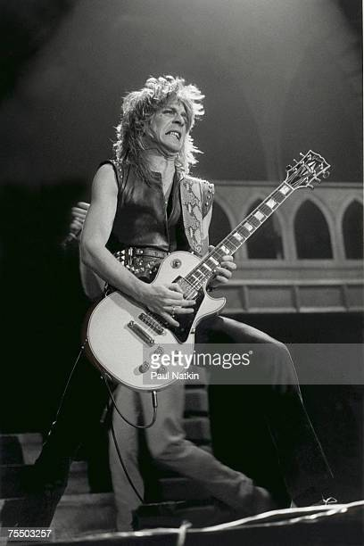 Randy Rhoads on 1/24/82 in Chicago Il in Various Locations