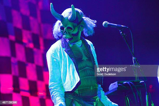 Randy Rose of avantgarde rock band The Residents performs onstage at the Paramount Theatre on March 20 2015 in Austin Texas