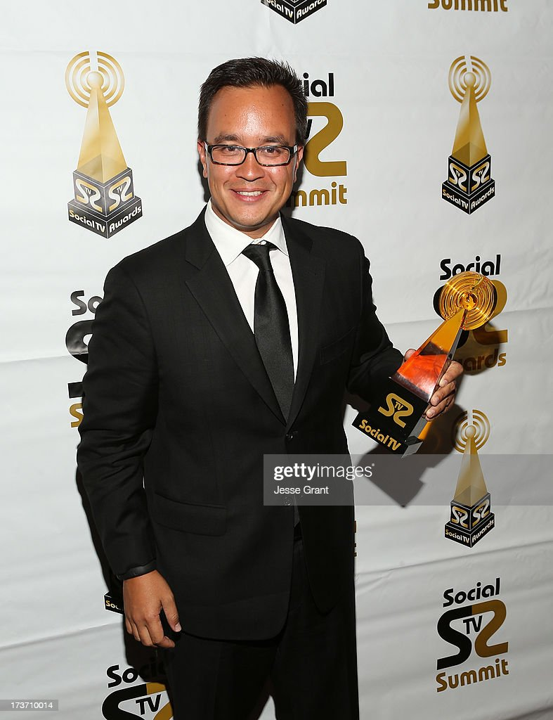 Randy Shiozaki attends the 2nd Annual Social TV Awards at Bel-Air Country Club on July 16, 2013 in Los Angeles, California.