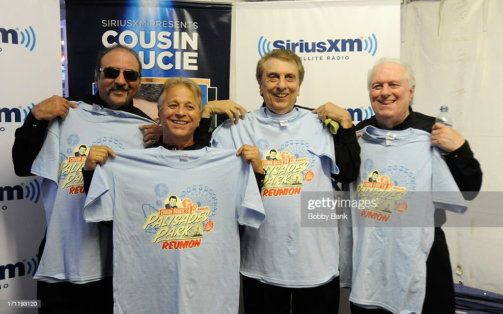 Randy & The Rainbows attend the Cousin Brucie's First Annual Palisades Park Reunion Presented By SiriusXM at State Fair Meadowlands on June 22, 2013 in East Rutherford, New Jersey.
