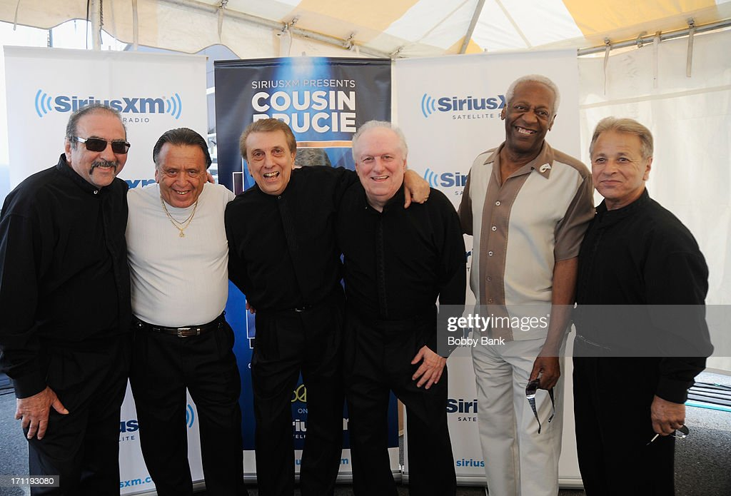 Randy & The Rainbows, J.T. Carter and Barry Newman attend the Cousin Brucie's First Annual Palisades Park Reunion Presented By SiriusXM at State Fair Meadowlands on June 22, 2013 in East Rutherford, New Jersey.