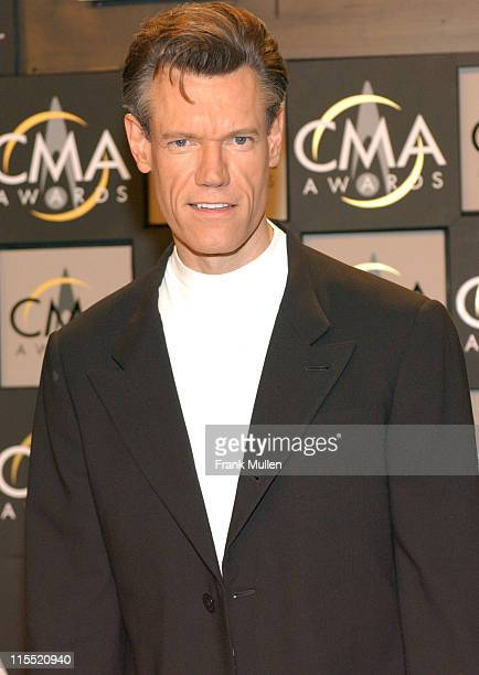Randy Travis during 38th Annual Country Music Awards Press Room at Grand Ole Opry House in Nashville Tennessee United States