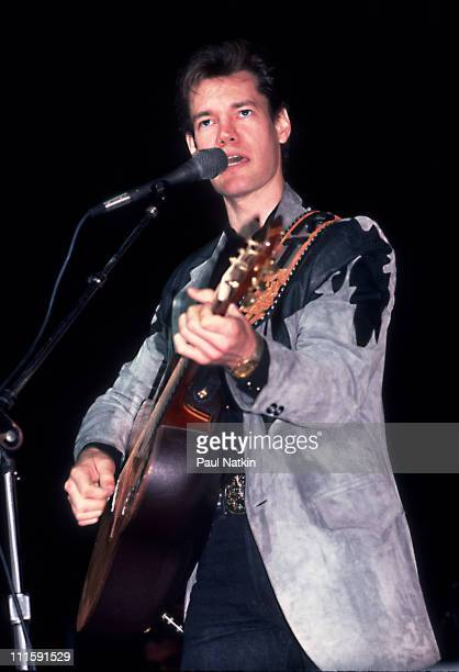 Randy Travis during Randy Travis in Concert December 13 1986 at Dallas Texas in Dallas Texas United States