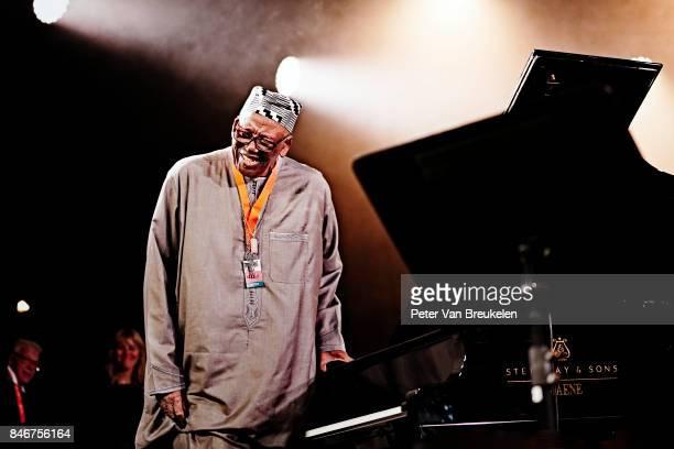 Randy Weston Performs at Jazz Middelheim Festival on August 05 2017 in Antwerp Belgium