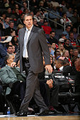 Randy Wittman of the Washington Wizardsduring the game on November 15 2014 at Verizon Center in Washington DC NOTE TO USER User expressly...
