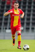 Randy Wolters during the team presentation of Go Ahead Eagles on July 15 2016 at the Adelaarshorst Stadium in Deventer The Netherlands