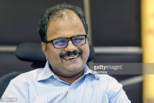 ES Ranganathan managing director of Indraprastha Gas Ltd pauses during an interview in New Delhi India on Wednesday May 17 2017 Indraprastha the sole...