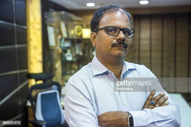 ES Ranganathan managing director of Indraprastha Gas Ltd poses for a photograph in New Delhi India on Wednesday May 17 2017 Indraprastha the sole...