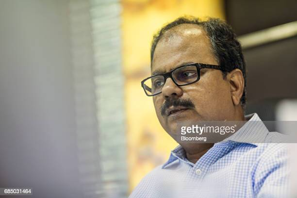 ES Ranganathan managing director of Indraprastha Gas Ltd speaks during an interview in New Delhi India on Wednesday May 17 2017 Indraprastha the sole...