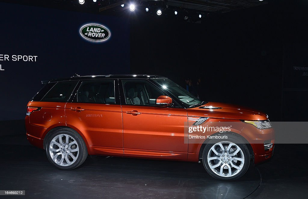 Range Rover Sport world unveiling at the 2013 New York Auto Show at Skylight at Moynihan Station on March 26, 2013 in New York City.
