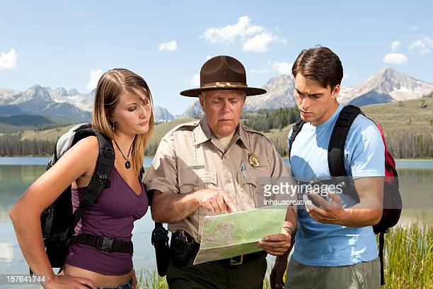 Ranger Helps Lost Campers