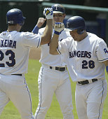 Rangers 1st Baseman Mark Teixeira hit a threerun home run his first of the game in the first inning to put the Rangers ahead 30 Texas Rangers sweep...