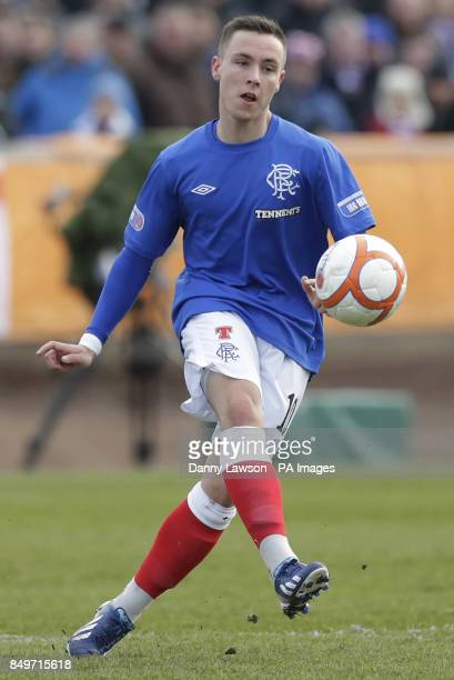 Rangers' Barrie McKay during the IRNBRU Scottish Third Division match at Shielfield Park Berwick