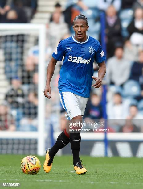 Rangers Bruno Alves during the Betfred Cup last 16 match at Ibrox Stadium Glasgow