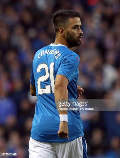 Rangers' Daniel Candeias during the UEFA Europa League Qualifying first round first leg match at Ibrox Stadium Glasgow PRESS ASSOCIATION Photo...