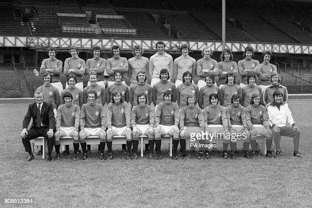 Rangers FC back row left to right Dave Smith Martin Henderson Tom Forsyth Colin Jackson Stewart Kennedy Peter McCloy Donald Hunter Ally Scott Alfie...