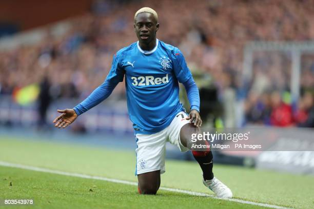 Rangers' Gomes Dalcio during the UEFA Europa League Qualifying first round first leg match at Ibrox Stadium Glasgow PRESS ASSOCIATION Photo Picture...