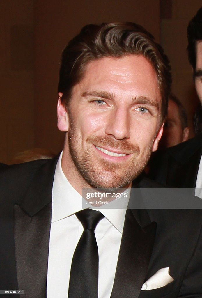 NY Rangers <a gi-track='captionPersonalityLinkClicked' href=/galleries/search?phrase=Henrik+Lundqvist&family=editorial&specificpeople=217958 ng-click='$event.stopPropagation()'>Henrik Lundqvist</a> attends the 2013 New York Rangers Casino Night at Gotham Hall on March 1, 2013 in New York City.