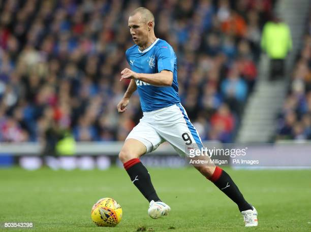 Rangers' Kenny Miller during the UEFA Europa League Qualifying first round first leg match at Ibrox Stadium Glasgow PRESS ASSOCIATION Photo Picture...