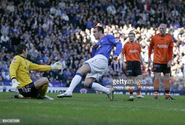 Rangers' Kris Boyd scores the equaliser to make it 11