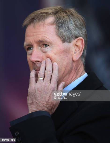 Rangers majority share holder Dave King is seen during the Betfred League Cup Semi Final between Rangers and Motherwell at Hampden Park on October 22...