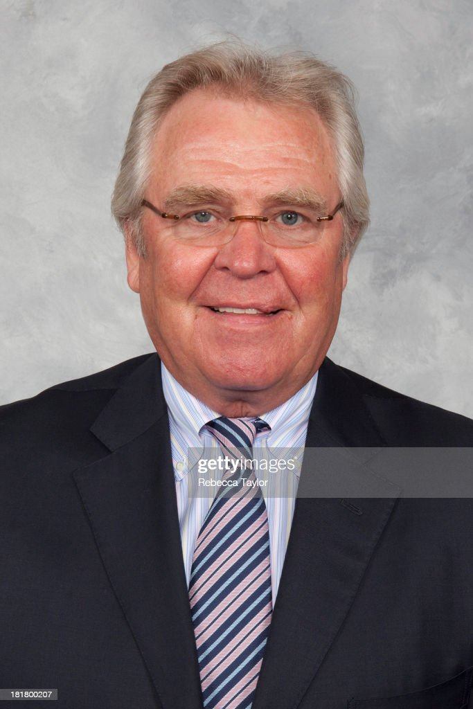 Rangers President and General Manager <a gi-track='captionPersonalityLinkClicked' href=/galleries/search?phrase=Glen+Sather&family=editorial&specificpeople=207190 ng-click='$event.stopPropagation()'>Glen Sather</a> poses for his official headshot on September 5, 2009 in Tarrytown, New York.