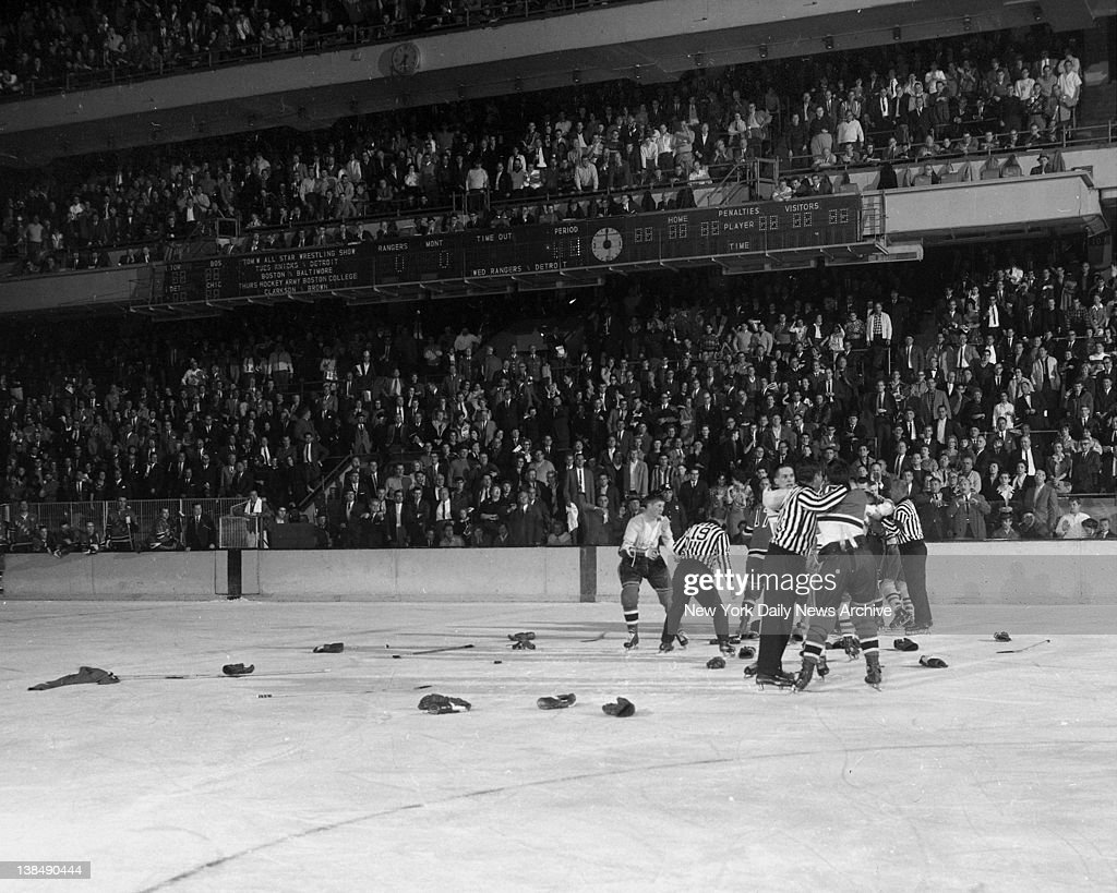Andy bathgate getty images - How old is madison square garden ...