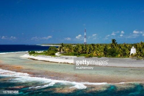 Rangiroa Atoll Tiputa Pass Northern Tuamotu Archipelago
