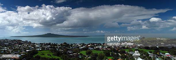 Rangitoto Island from Mt Victoria, Auckland
