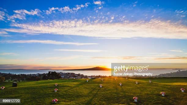 Rangitoto Island Sunrise.