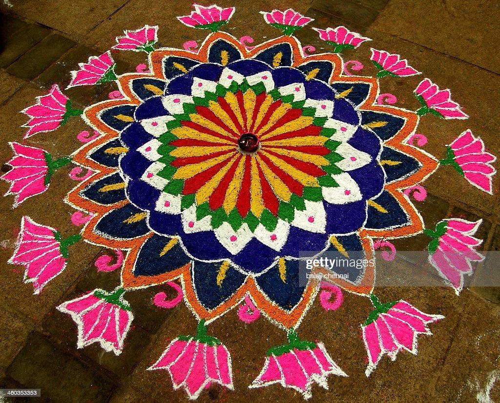 Rangoli - Colour Art