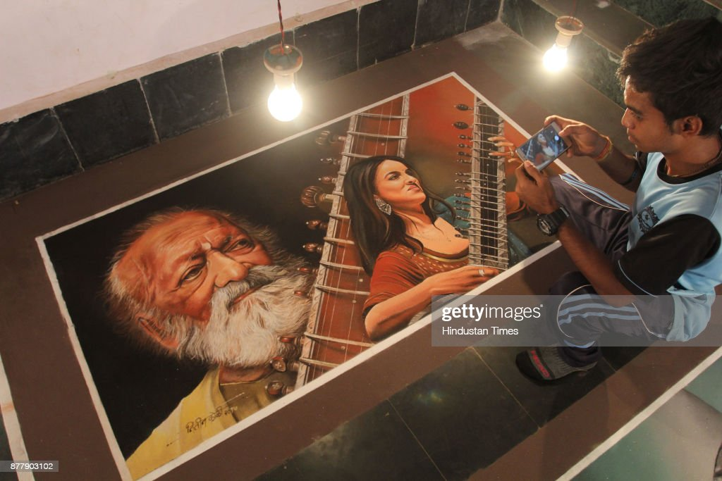 Rangoli Exhibition Theme On Musical Legends