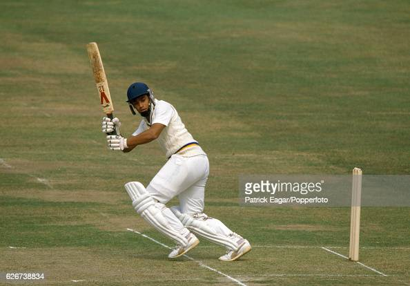 Ranjan Madugalle batting for Sri Lanka during the Only Test match between England and Sri Lanka at Lord's Cricket Ground London 23rd August 1984