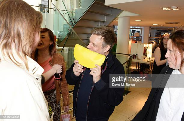 Rankin attends the French Connection #CantHelpMySelfie launch party at French Connection Regent Street store on April 15 2014 in London England