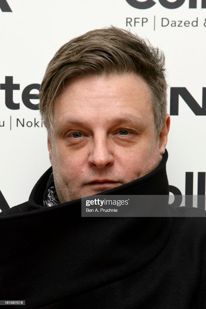 Rankin attends the premiere of Rankin's Collabor8te connected by NOKIA at Regent Street Cinema on February 12, 2013 in London, England.