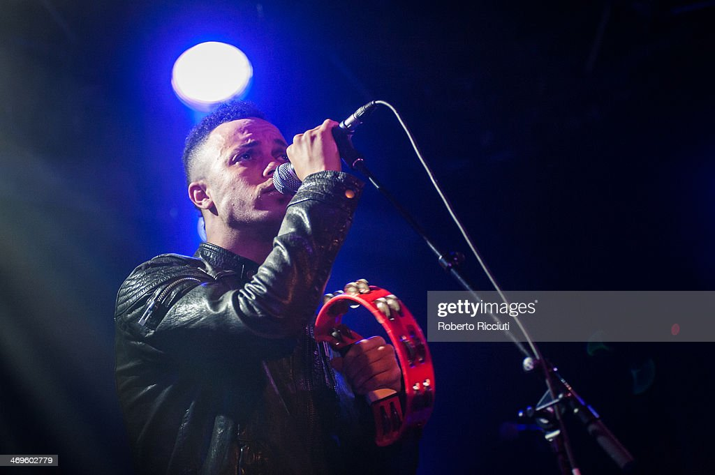 Ranking Junior of The Beat performs on stage at The Liquid Room on February 15, 2014 in Edinburgh, United Kingdom.