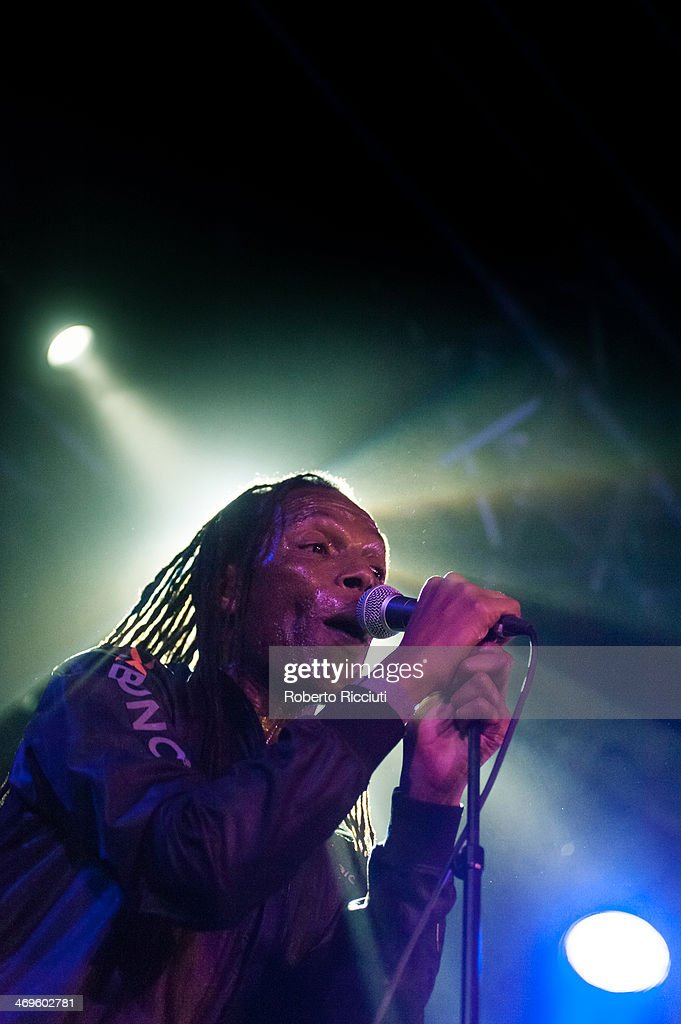 Ranking Roger of The Beat performs on stage at The Liquid Room on February 15, 2014 in Edinburgh, United Kingdom.
