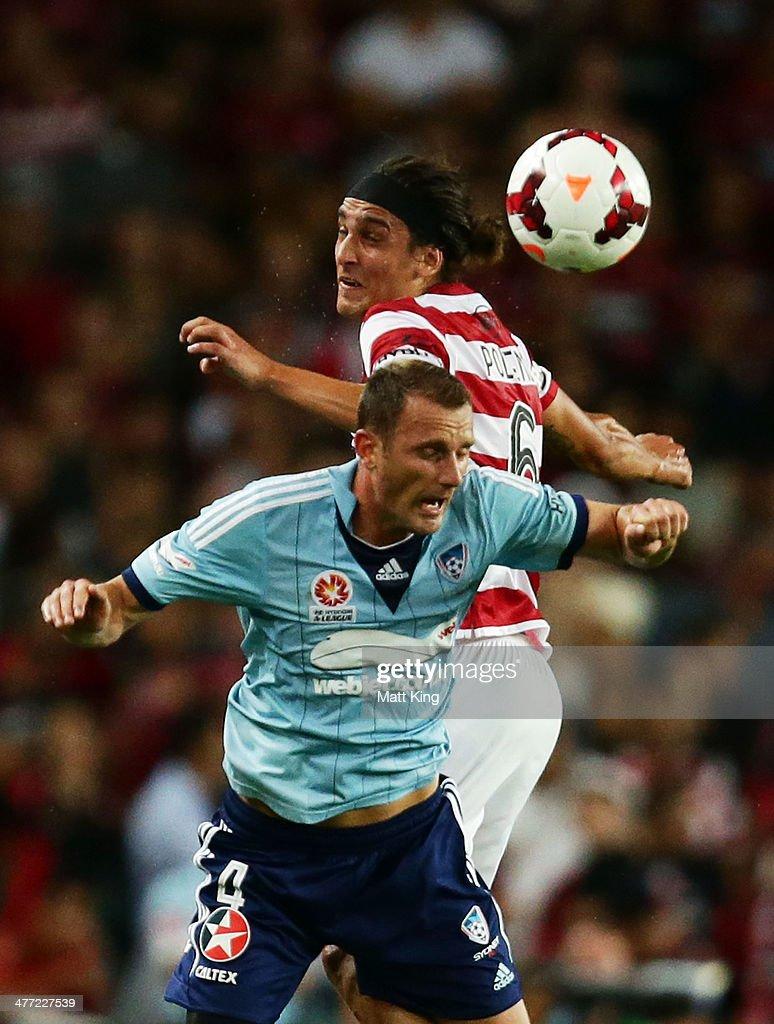 A-League Rd 22 - Sydney v Western Sydney